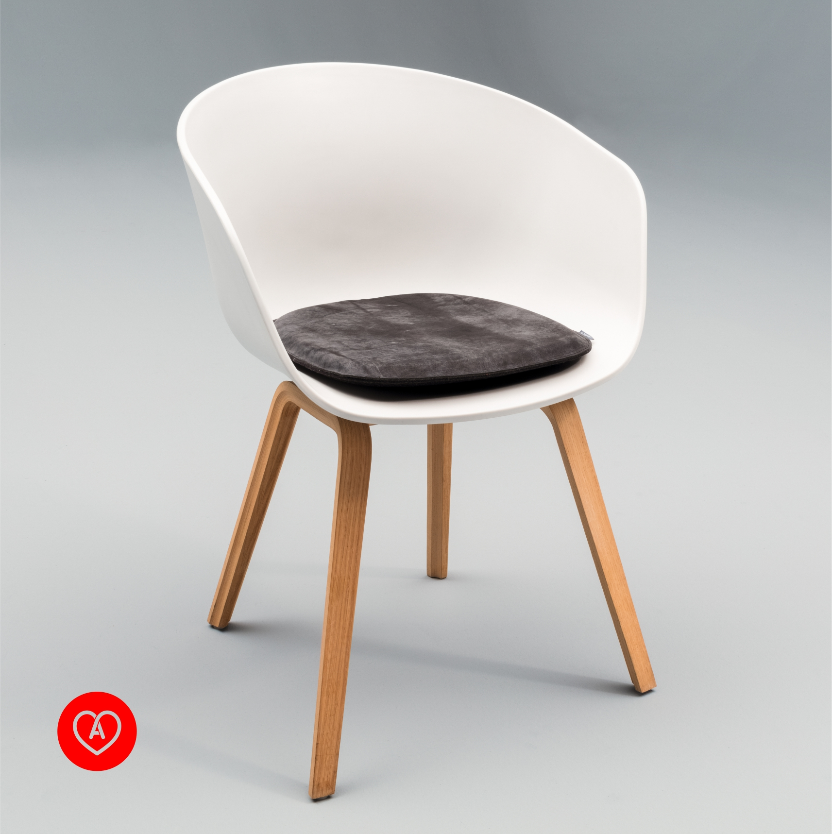 Sitzkissen Aus Leder Filz Passend Fur Hay About A Chair Acc 22 Alpenfilz